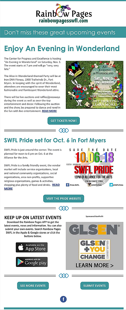 Rainbow Pages Newsletter