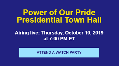 Democratic presidential candidate lgbt town hall